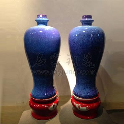 梅瓶-亨盛钧窑梅瓶