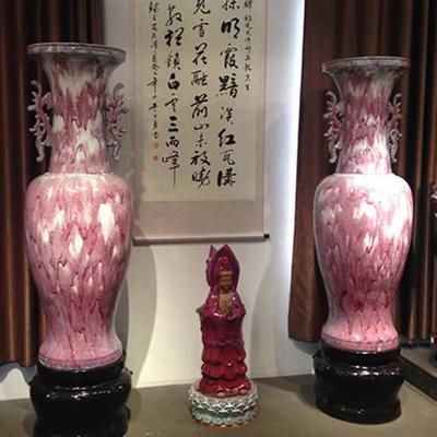 落地大花瓶-亨盛钧窑钧瓷大花瓶