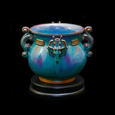 和乐天下-孔家钧窑第十二届中国东盟博览会国礼钧瓷和乐天下