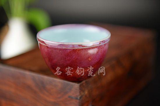 杨晓永钧瓷杯子