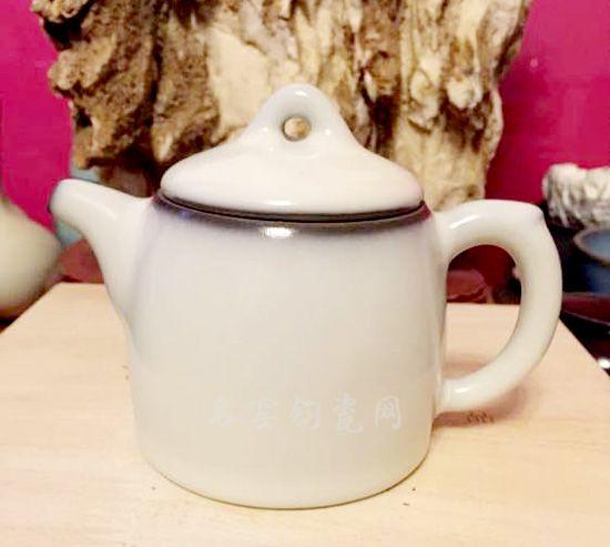 杨晓永钧瓷茶壶