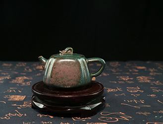 品茗赏钧:精品钧瓷茶具鉴赏