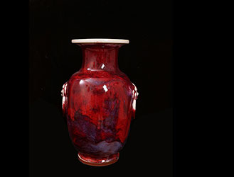 现代钧瓷的自然窑变之美