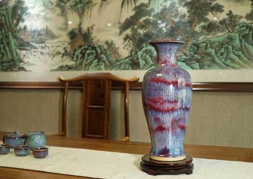 浅议钧瓷的主要特征:入窑一色,出窑万彩