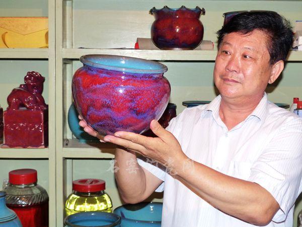 中国工艺美术大师杨国政钧瓷印象
