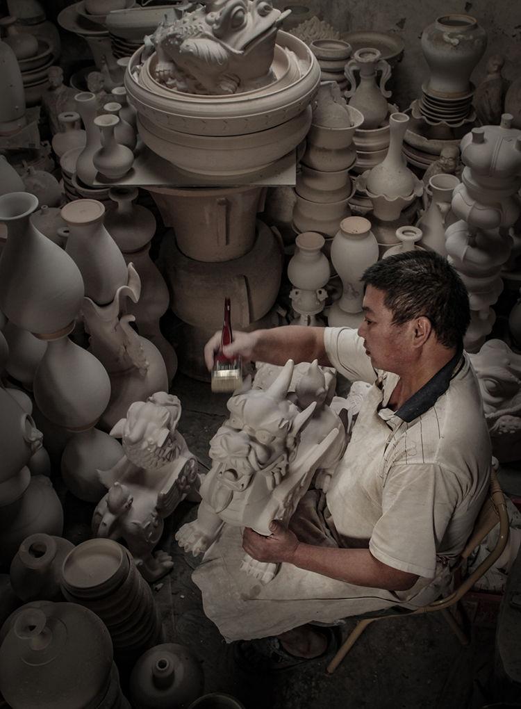 神垕镇隐藏在钧瓷大师身后的普通工匠_神垕镇隐藏在钧瓷大师身后的普通工匠