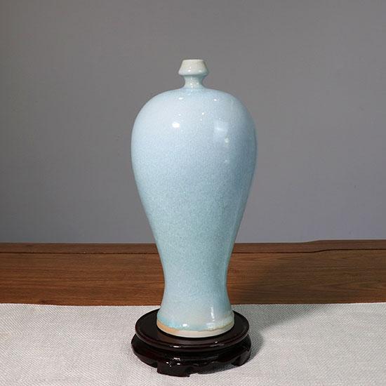 传统经典器型梅瓶/月白釉/天青釉