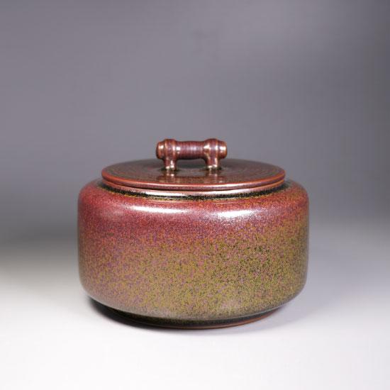 乌金釉茶叶罐