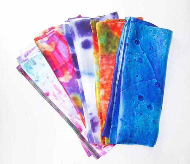 钧瓷元素饰品丝巾