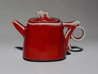 """钧瓷茶壶""""盛世祥和"""",献礼新中国70周年"""