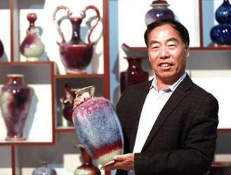 用钧瓷的智慧呈现中国的传统文化