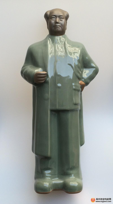 钧瓷主席像-站像