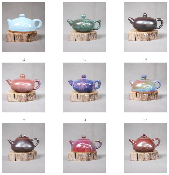 茗钧堂-白胜利大师作品-钧瓷茶壶