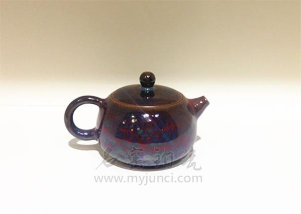 钧瓷茶具图片
