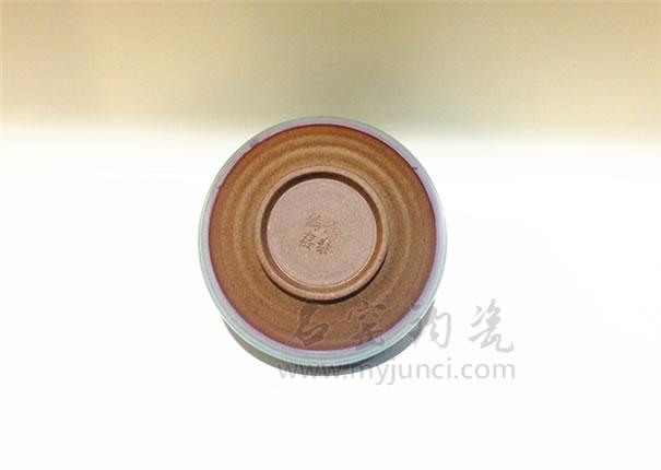 卢钧茶叶罐-钧瓷茶具-名窑钧瓷网