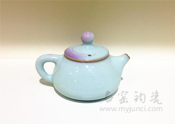 钧瓷茶具-钧瓷茶壶-名窑钧瓷网