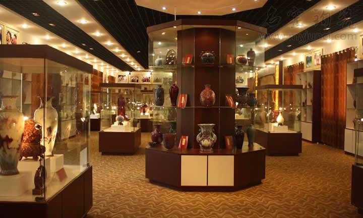 任氏瓷业钧瓷展厅