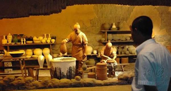 钧瓷历史复原,泥塑制瓷工艺