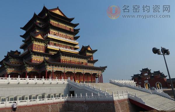 禹州钧瓷文化园-天成阁-远景