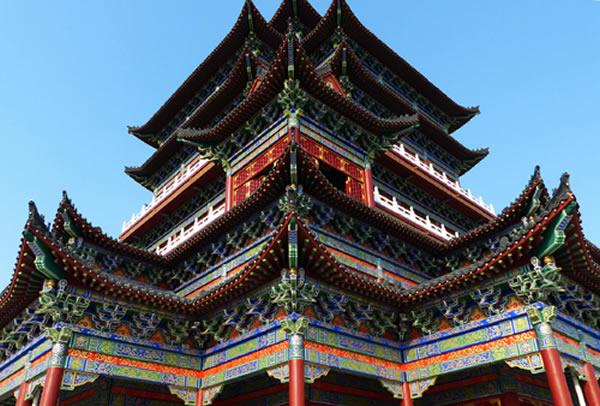 禹州市钧瓷文化园-天成阁-阁楼一角
