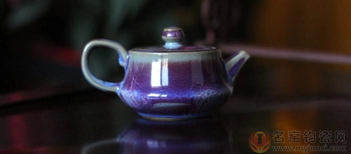 小茶壶-孔家钧瓷1