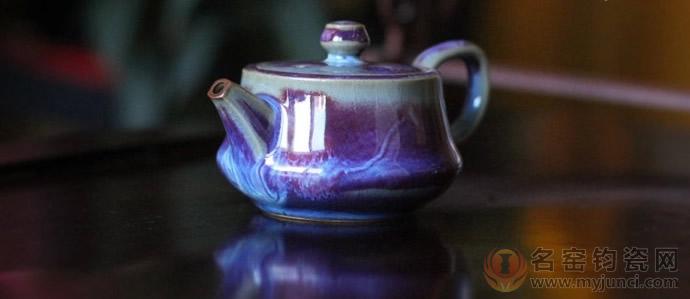 小茶壶-孔家钧瓷2