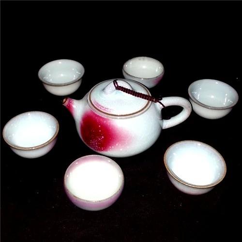 茶具套装-孔家钧瓷1