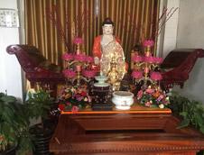 盛世祥瑞鼎永久供奉于亚洲最大寺庙南海禅寺尊客堂