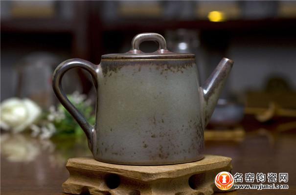 白胜利-钧瓷茶壶【铭钧堂】