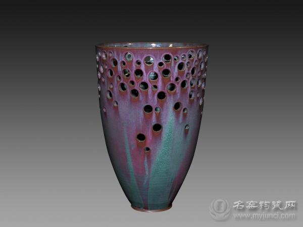 刘志钧钧瓷作品:镂空系列