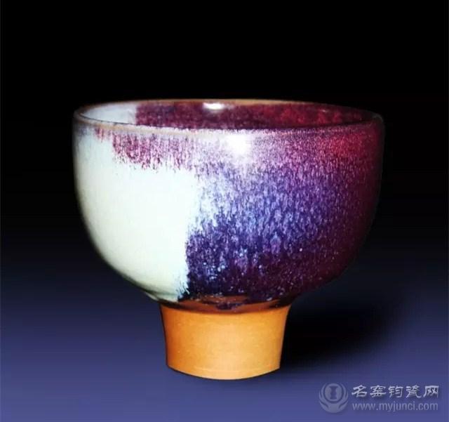 刘志钧(志钧瓷坊)钧瓷作品《高足碗》