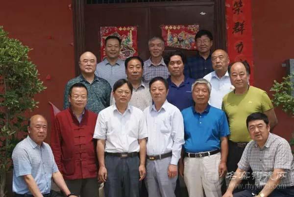 许昌市中国钧瓷收藏家协会举行会长级会议