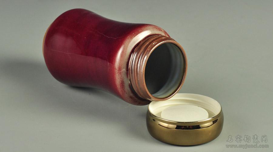钧红釉携带杯B01口部