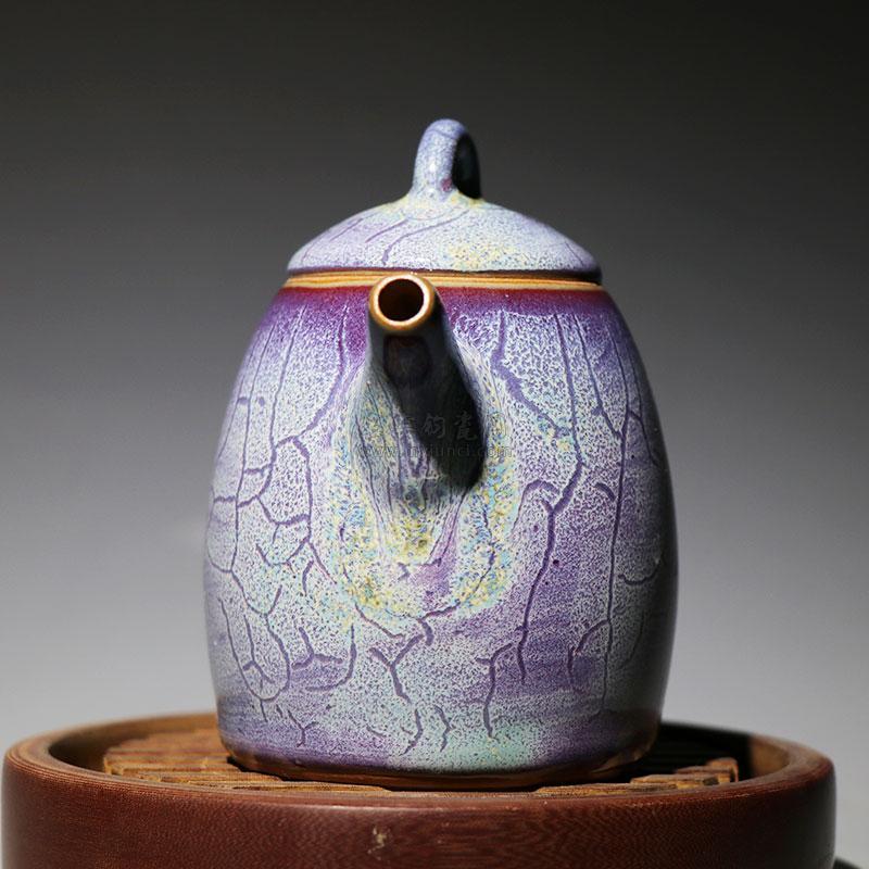 秦权壶-张亚龙 钧瓷壶作品