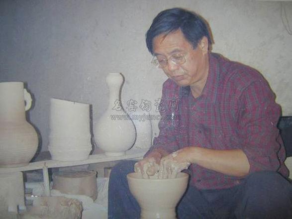 钧瓷大师刘富安
