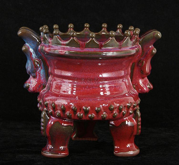 苗长强陶瓷大师作品