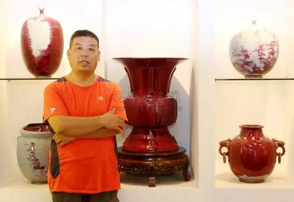 钧瓷大师杨晓峰