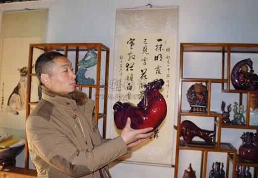钧瓷大师燕俊峰