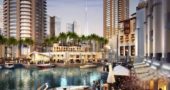 迪拜地标性观光塔