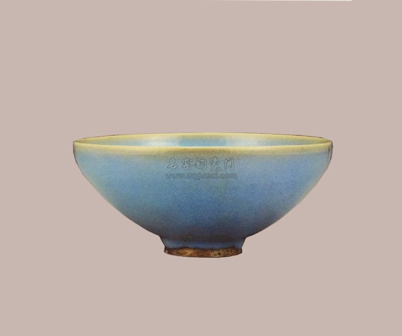 元代钧瓷:天蓝釉碗