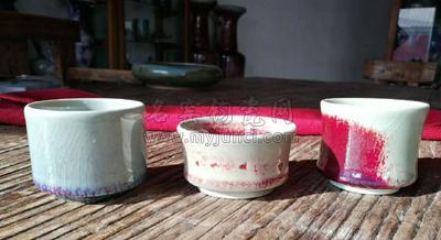 温肇端和他的柴窑满釉支烧茶具