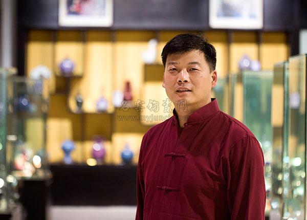 坪山钧窑艺术总监刘中玄印象