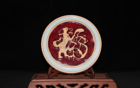 李海峰代表钧瓷作品《福旺》