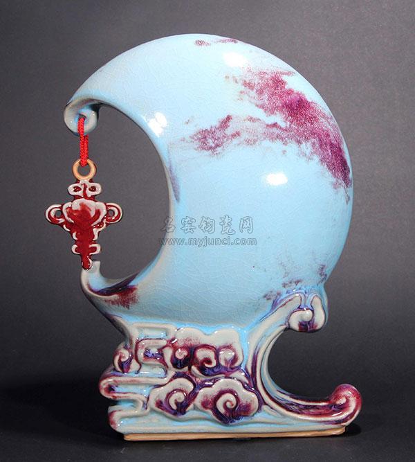 李海峰代表钧瓷作品《缘来如意》
